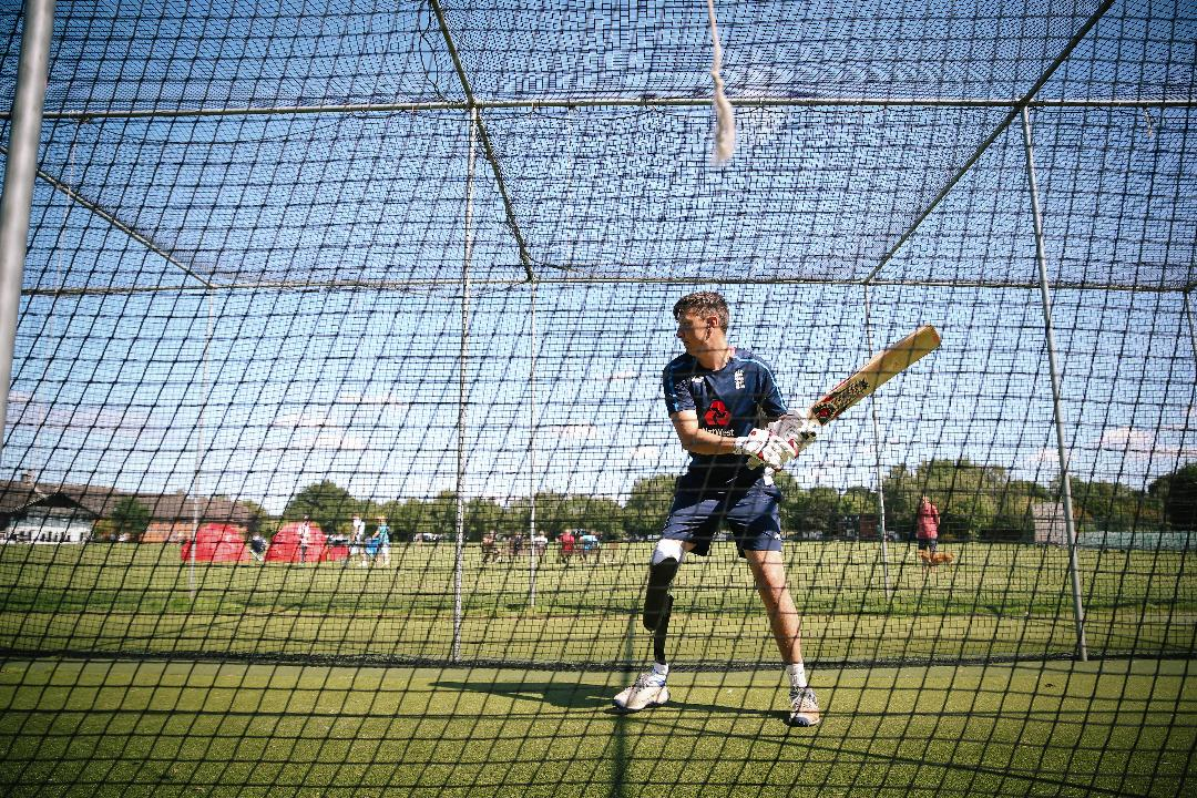 England Physical Disability begin Tri-Series