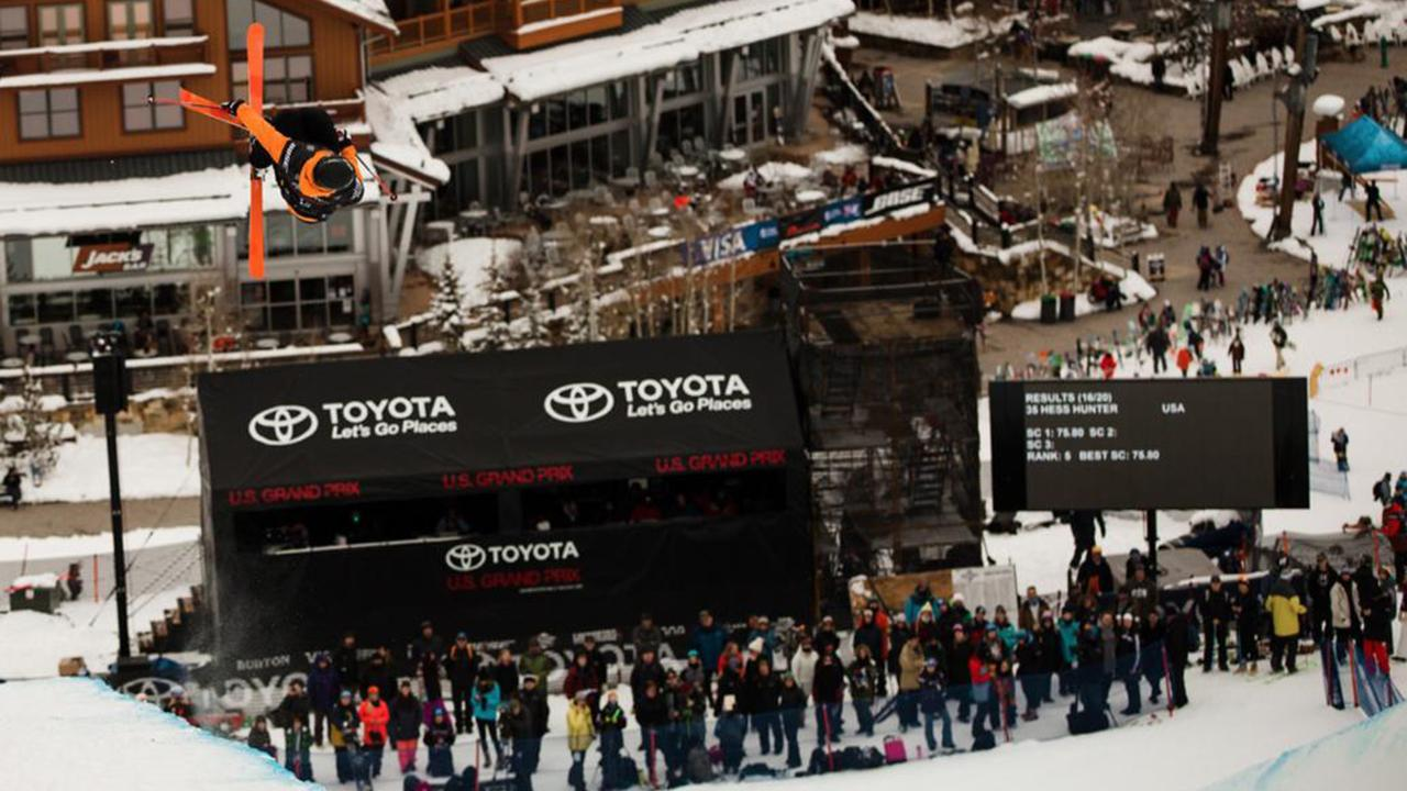 ce8dbe3e5e34 Benoit Valentin - 2nd - Halfpipe - Toyota U.S. Grand Prix at Copper Mtn -  Top Highlights - Videos