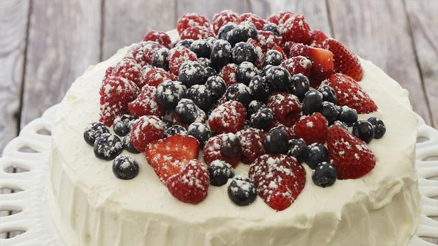 Berry Chantilly Cake Recipe Eatingwell