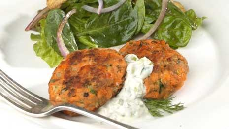 Easy Salmon Cakes Recipe Eatingwell