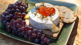 Smoked Camembert cheese