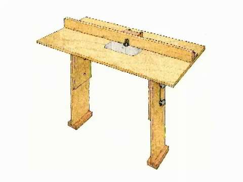 Stow and go router table finewoodworking keyboard keysfo Gallery