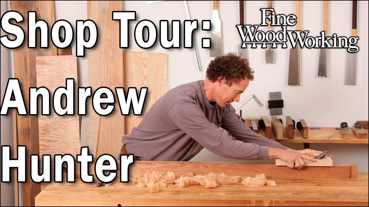 Shop Tour: Andrew Hunter