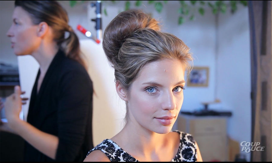 Comment faire un chignon extra large