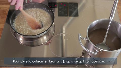 Comment faire un risotto