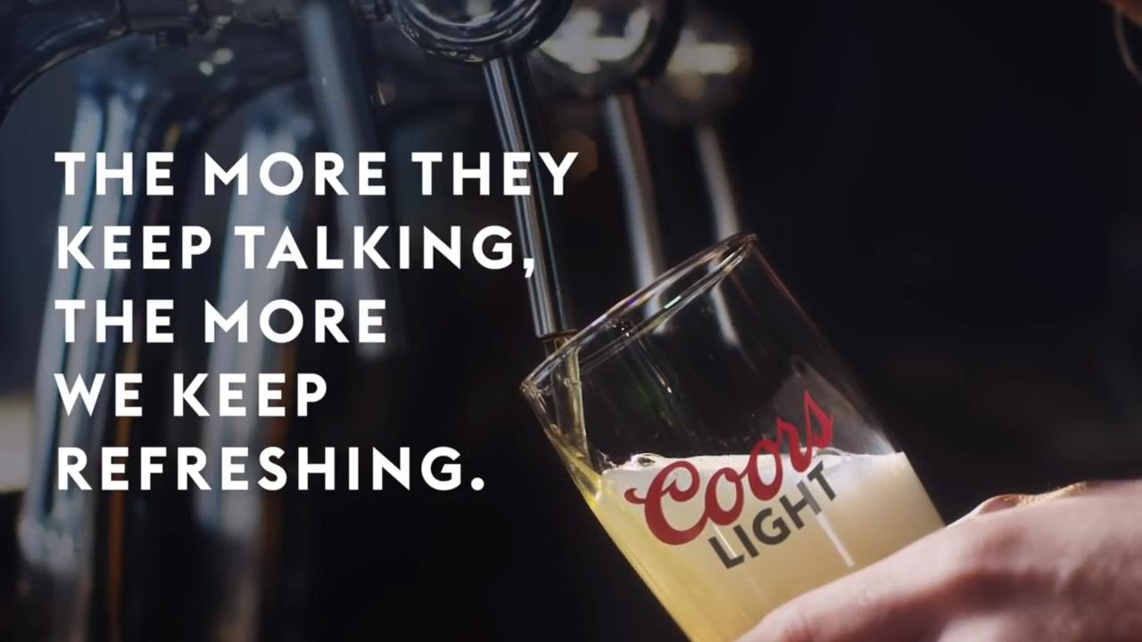 Coors Light debuts 'smart beer tap fueled by Bud Light negativity'