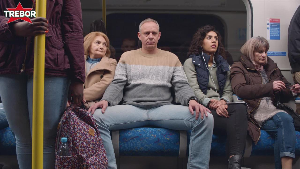 Everyday irritations get a good bashing in hilarious Trebor mint ads