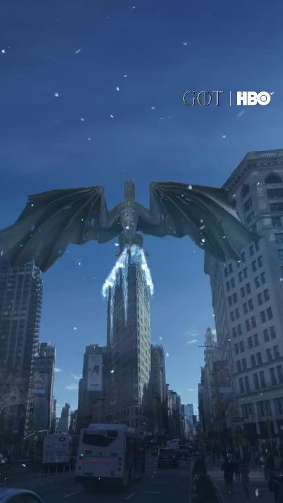 HBO's 'Game of Thrones' Snapchat lens turns New York's Flatiron Building into a dragon's perch