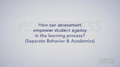 Separate Behavior & Academics