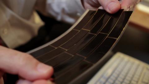 Inside Science TV Segment: New Solar Cell Absorbs and Emits Light