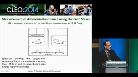 A Historical Perspective on the Maser and Laser, James P. Gordon Symposium
