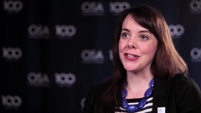 Arlene Smith talks about why she wanted to study optics--OSA Stories