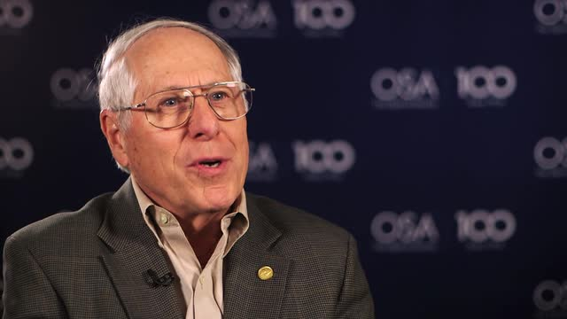 Donald Keck reflects on the First Low-Loss Optical Fiber --OSA Stories