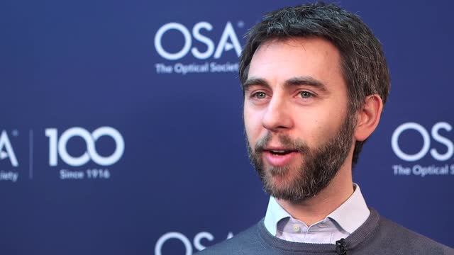 Dario Polli shares how a class with Prof. Svelto inspired him to pursue his current career--OSA Stories