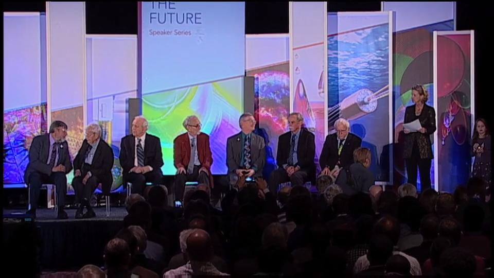Light the Future -  Nobel Laureate Panel at FiO 2016