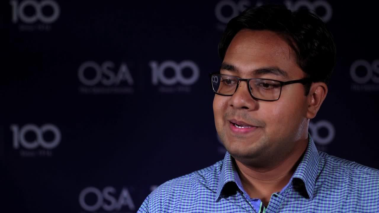 Ayan Chakrabarty talks about the excitement of building an instrument that has never been seen before--OSA Stories