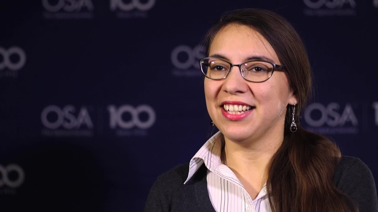 Mariia Pashchenko was inspired to study optics by a particular experiment--OSA Stories