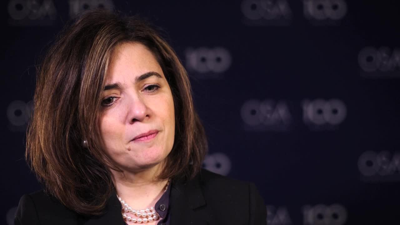 Michal Lipson talks about the mentors who have been major players in her life--OSA Stories