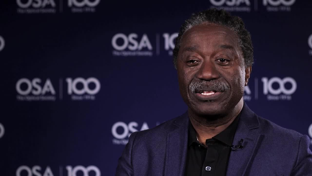 Herbert Winful shares what excites him about his current work--OSA Stories