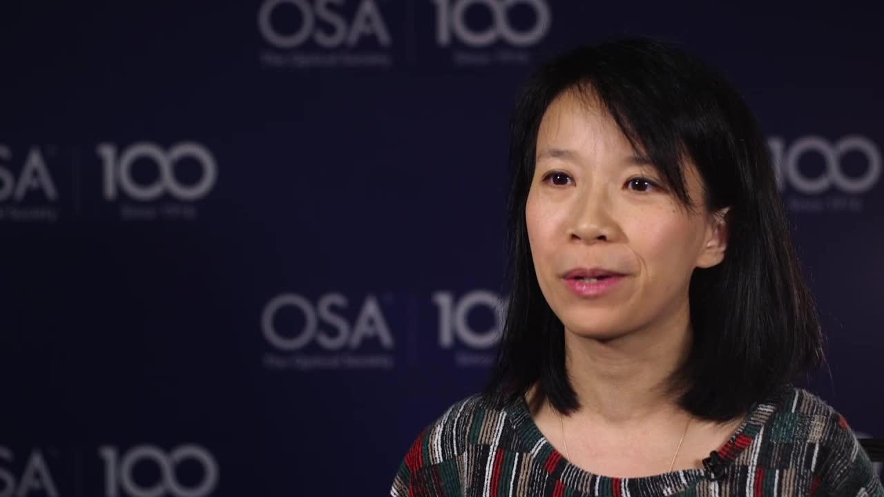 Mable Fok talks about being a woman in science--OSA Stories