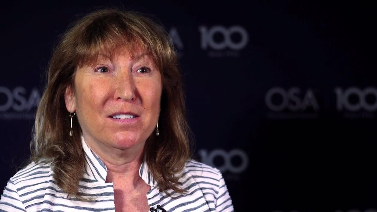 Eve Griliches speaks about why it's important for women to pursue optics--OSA Stories