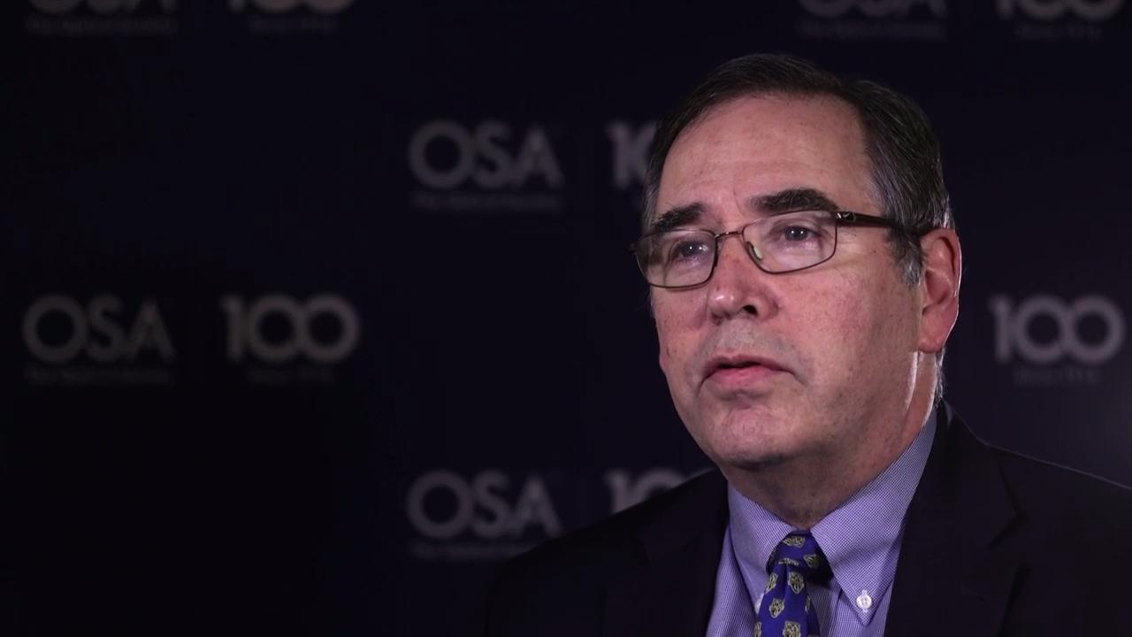 Stephen Fantone shares his thoughts on mentorship--OSA Stories