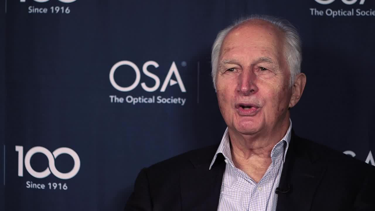 Herwig Kogelnik shares how he came to work in optics--OSA Stories