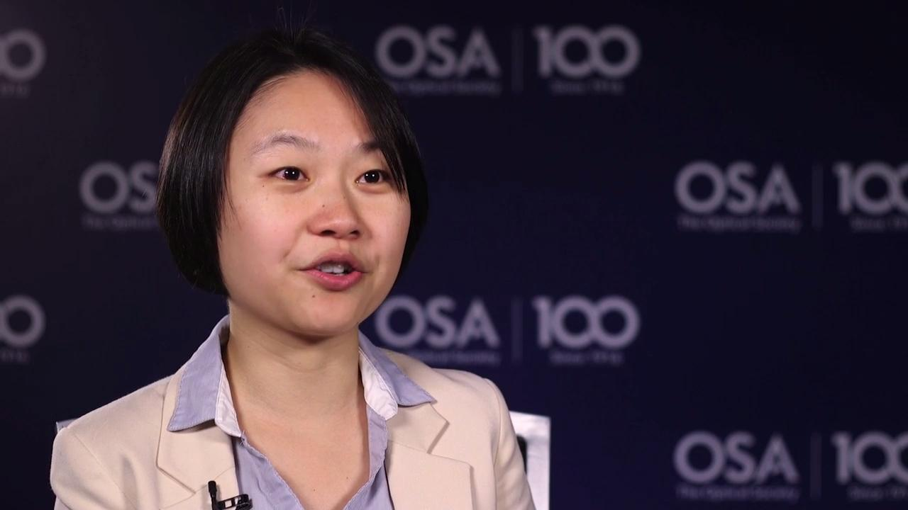 Qing Gu shares what excites her about her current work--OSA Stories