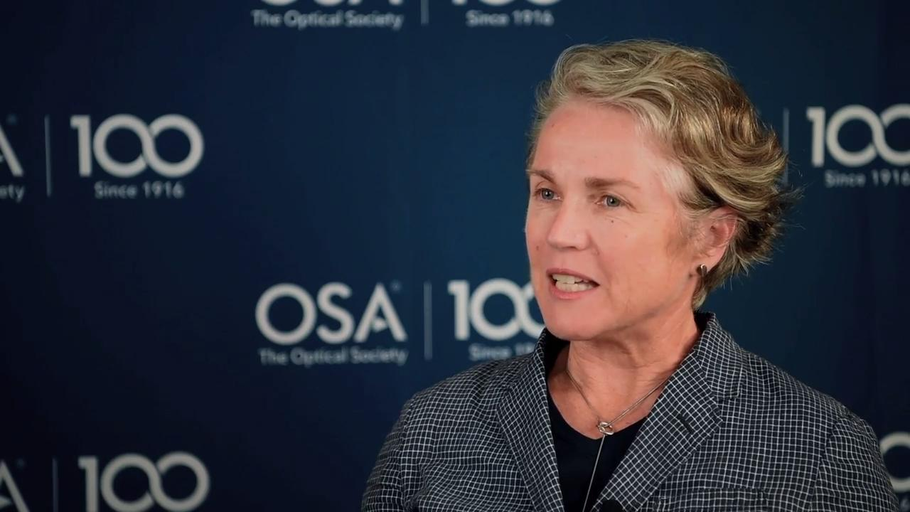 Ann Roberts talks about what OSA means to her--OSA Stories