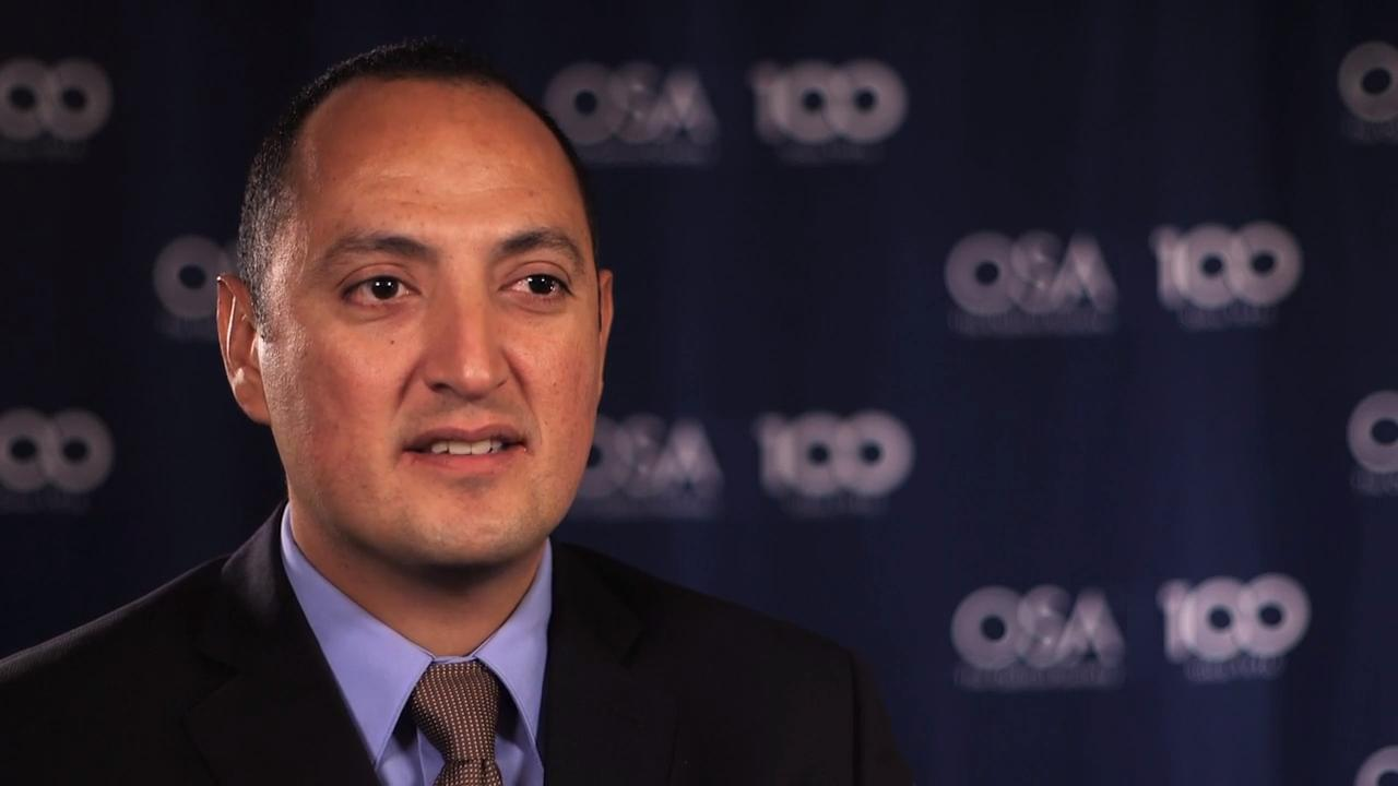 Carlos Lopez-Mariscal shares why he enjoys his work--OSA Stories