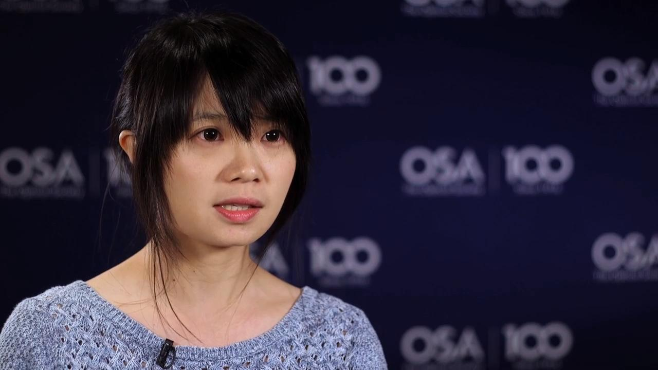 Tzu-Yu Wu describes what she likes about light--OSA Stories