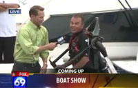 Water Jet Pack Fail on Live News!