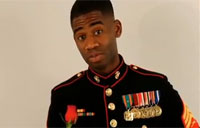 Marine Rapper Asks Betty White to Ball!