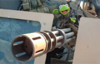 Adventures of Cpl Kermit in Iraq