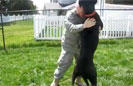Marmaduke Welcomes Home Soldier