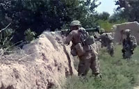 Soldier Fires SMAW-D in Afghanistan