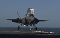 2nd F-35B Lands Vertically on USS WASP
