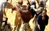 The Moment Gaddafi was Captured