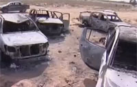 The Aftermath of Gaddafi's Convoy