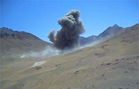 2000lb Bomb Dropped On Taliban