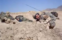 Crazy Incoming RPG in Afghanistan