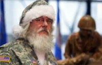 America's Santa Visits Wounded Warriors
