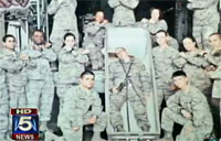 Photo of Airmen with Casket Surfaces