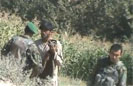 ANA Soldier Muzzle Thumps Taliban