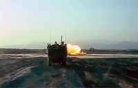 20lb IED Detonation Shock Wave