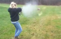 First Time Shooter vs. 12 Gauge
