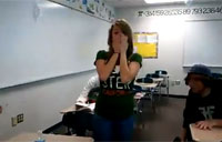 Soldier Surprises Daughter in Class