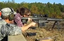 Army Wife Shoots M107 Sniper Rifle