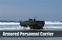 New USMC Armored Personnel Carrier