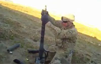 Mortar Team Silences Taliban Ambush